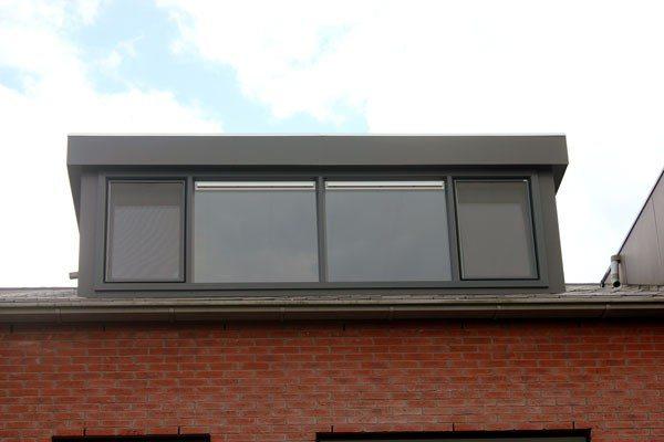 Kunststof dakkapel trespa | Zolderverbouw Larenstein