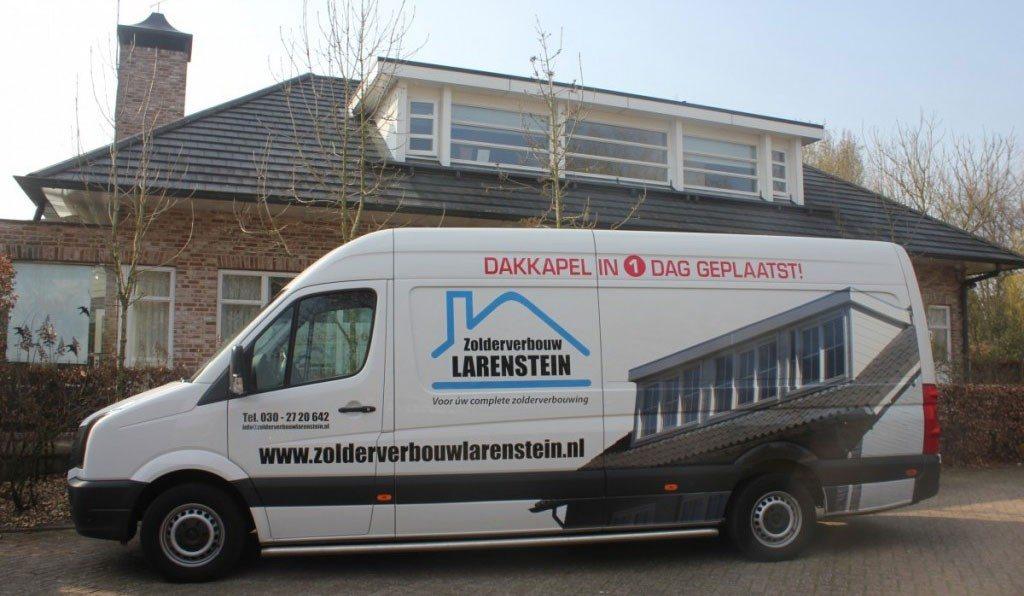 Zolderverbouw Larenstein BV bus